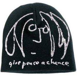 JOHN LENNON 毛線帽 GIVE PEACE A CHANCE