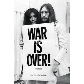海報 020  JOHN LENNON ^( the Beatles WAR IS OVE