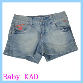 ~Baby KAD~大童柔軟牛仔短褲 10號~12號
