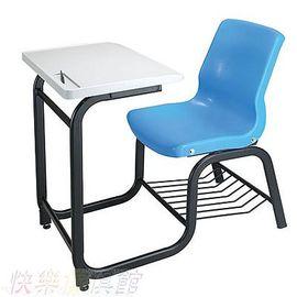 AC-0076 《快樂傢俱館》單人連結式課桌椅組/公私立補教課桌椅/兒童閱讀書桌椅