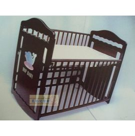 麗嬰兒童玩具館~海洋世界-小海豚的家嬰兒特大床可搖擺.多階段成長調整.附床側版