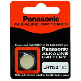 Panasonic鹼鈕電池LR1130
