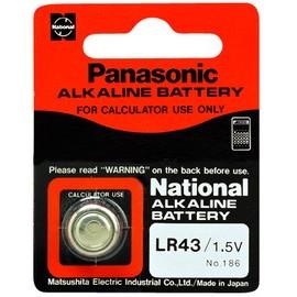 Panasonic鹼鈕電池LR43