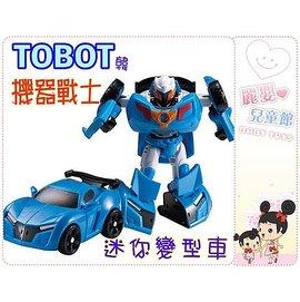 麗嬰兒童玩具館~韓國正版 TOBOT機器戰士-迷你超級戰士變型機器人
