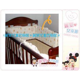 麗嬰兒童玩具館~小海豚系列商品-嬰兒床專用的床圍.純綿