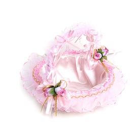 【花現幸福】☆玫瑰花童提籃300元(婚禮小物/喜糖籃/會場佈置/姊妹禮)
