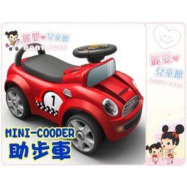 麗嬰兒童玩具館~新款mini cooper助步車.腳行車滑行車-經典賽車造型助步車