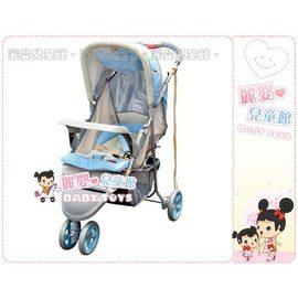 麗嬰兒童玩具館~美國欣康SYNCON專櫃輕巧鋁管三輪推車-超輕秒縮暢銷款