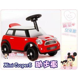 麗嬰兒童玩具館~正版Mini CooperS免電力滑行車助步車.公司貨