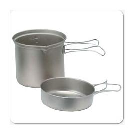 【日本 EPI EPIgas】超輕BP鈦合金鍋具-M.炊具.鈦鍋組(一鍋一蓋) T-8005