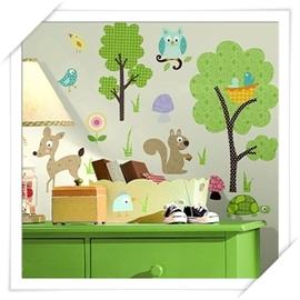 RoomMates美系貼 _ 居家系列 ~森林聚會~趣味佈置 居家裝潢   美學 居家佈置