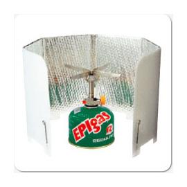 【日本 EPI EPIgas】超輕量摺疊式擋風板.擋風片.隔風片.遮風板.爐具  A-6503