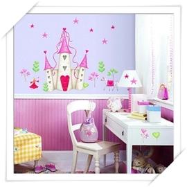 RoomMates美系貼 _ 居家系列~粉紅城堡~趣味佈置 居家裝潢   美學 居家佈置