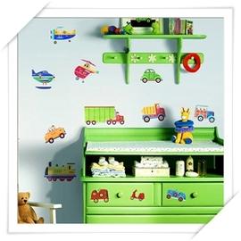 RoomMates美系貼 _ 居家系列~交通工具~趣味佈置 居家裝潢   美學 居家佈置