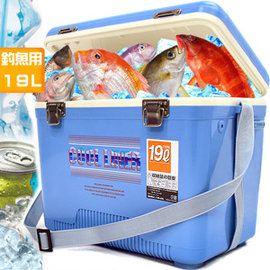 釣魚冰桶19L冰桶P063-19攜帶式19公升冰桶行動冰箱保冰桶冰筒保冷桶保冰箱保冷箱冷藏箱保溫桶保溫箱保冰袋保鮮袋保溫袋擺攤休閒汽車戶外