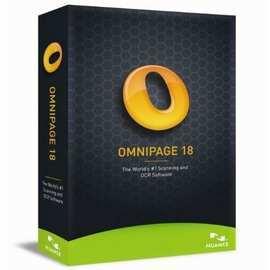 OmniPage 18 版 ^(文字辨識OCR^) 商業版 ^(盒裝^)