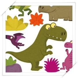 Nouvellesimages法國風尚壁貼 _ 快樂 童話~恐龍樂園~趣味佈置 居家裝潢