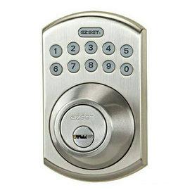 電子按鍵密碼輔助鎖★安裝簡單★免鑰匙開門★可自設6組子密碼★適合公寓/出租套房