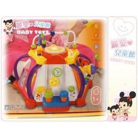 麗嬰兒童玩具館~快樂小天地 .多功能六面音樂智慧盒.十五合一超有趣.專櫃同款