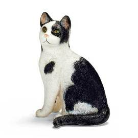 Schleich 史萊奇 動物模型~ 貓^(坐姿^) ~