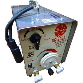 ~UD工具網~台製 贊銘 200A 交流式 雙電壓可切換電焊機 四輪好移動 3.2MM焊條