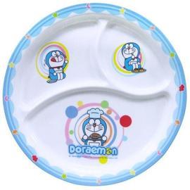 【正版授權】多啦A夢 圓形兒童餐盤