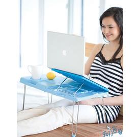 多功能折疊式筆記電腦桌/筆電摺疊桌~走到哪用到哪,超輕便!多段式筆電折疊桌/便利桌