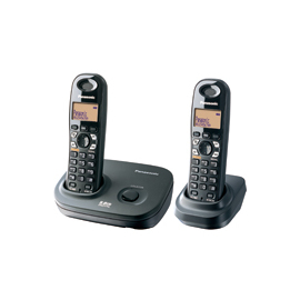 【國際牌】《PANASONIC》台灣松下◆數位長距離無線電話《KX-TG4612TW / KXTG4612TW》黑色