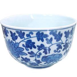 【日本製造】復古青花陶瓷湯碗