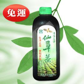 仙草茶^(大罐960cc^)~12罐下殺↘699~~天然仙草做成,清涼退火生津止渴、打開即