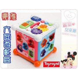 麗嬰兒童玩具館~Toy Royal樂雅專櫃-新六面智力盒-四方積木配對盒