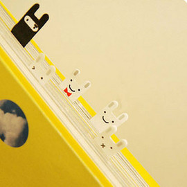 韓國 可愛兔兔 便利貼/分頁貼( 5款x20張,共100張!)◇/N次貼/裝飾貼/書籤/留言條
