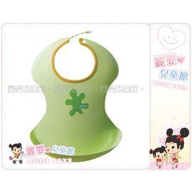 麗嬰兒童玩具館~《愛普力卡 Aprica》輕便型餐用圍兜兜~配合斷奶期使用~