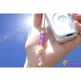 UV防曬美人~測紫外線變色手機鏈/狂銷風靡日韓夏天美女必備流行檢測紫外線手機鏈!