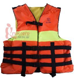 DJ7328高級成人救生衣,浮力衣(橘色/檸檬綠)DJ-7328