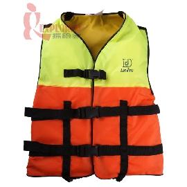 DJ7329高級兒童救生衣,浮力衣(S號)(橘色/檸檬綠) DJ-7329