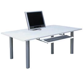 桌面[深60公分x寬120公分x高50公分]書桌/電腦桌(附鍵盤抽)-三色可選-TB60120BL-K