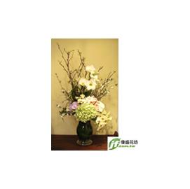 古典  盆花
