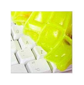 風靡歐美 魔力清潔靈super clean cyber clean 萬能綠色清潔工◇/神奇萬能魔力去塵靈/魔力清潔黏黏樂鍵盤清潔膠