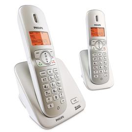 【飛利浦】《PHILIPS》超高頻數位◆無線子母電話/答錄機《CD3602/CD-3602/CD-3602S/CD3602S》