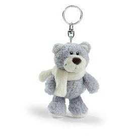 NICI溫特熊鑰匙圈~淺灰