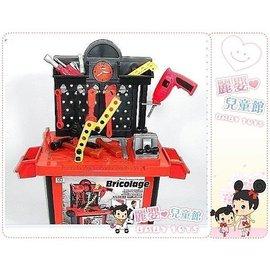 麗嬰兒童玩具館~幼稚園哥哥最愛.建築師工具拆裝工作台-我的行動工具收納箱