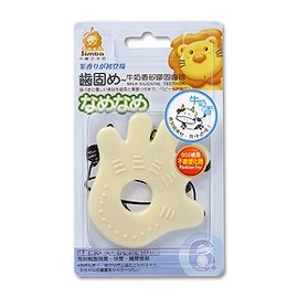 台灣【Simba 小獅王】牛奶香矽膠固齒器-(手/腳)
