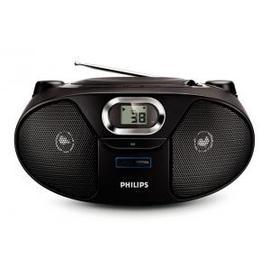 【飛利浦】《PHILIPS》USB/MP3/WMA◆黑旋風手提音響《AZ382/AZ-382》