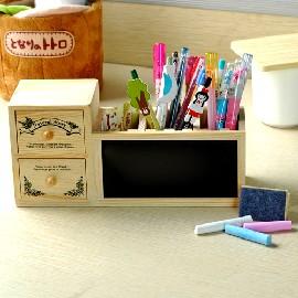 ~ ~韓國原木 插槽式收納盒 黑板 筆筒~10個起批每個126元~B0533