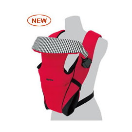 Aprica 嬰幼兒4方向外出揹巾 Easy-Touch Fitta(紅)~本月特惠價~再贈:貝親手口濕巾(70入)*1