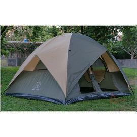 探險家露營帳篷㊣DJ881六-八人雙門雙房雙窗蒙古包(帳篷)(245*320cm)DJ-881