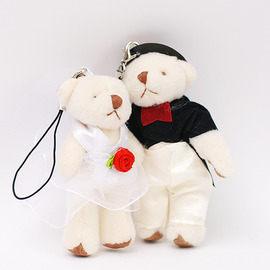 【花現幸福】☆迷你婚禮對熊25元☆小熊 婚禮小物 喜糖  紗袋  DIY材料
