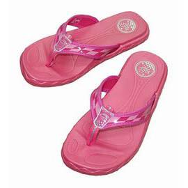 JESTER 360度甜美可愛平底夾腳鞋T~2685~06粉^(1^~4^#^) 兒童鞋平