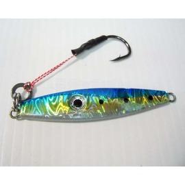◎百有釣具◎海力士 EVO  鑽石鐵板假餌  附魚鉤規格40g~買5隻再送路亞盒